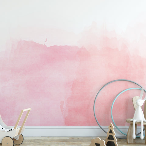 Pink Pastel Wall Mural