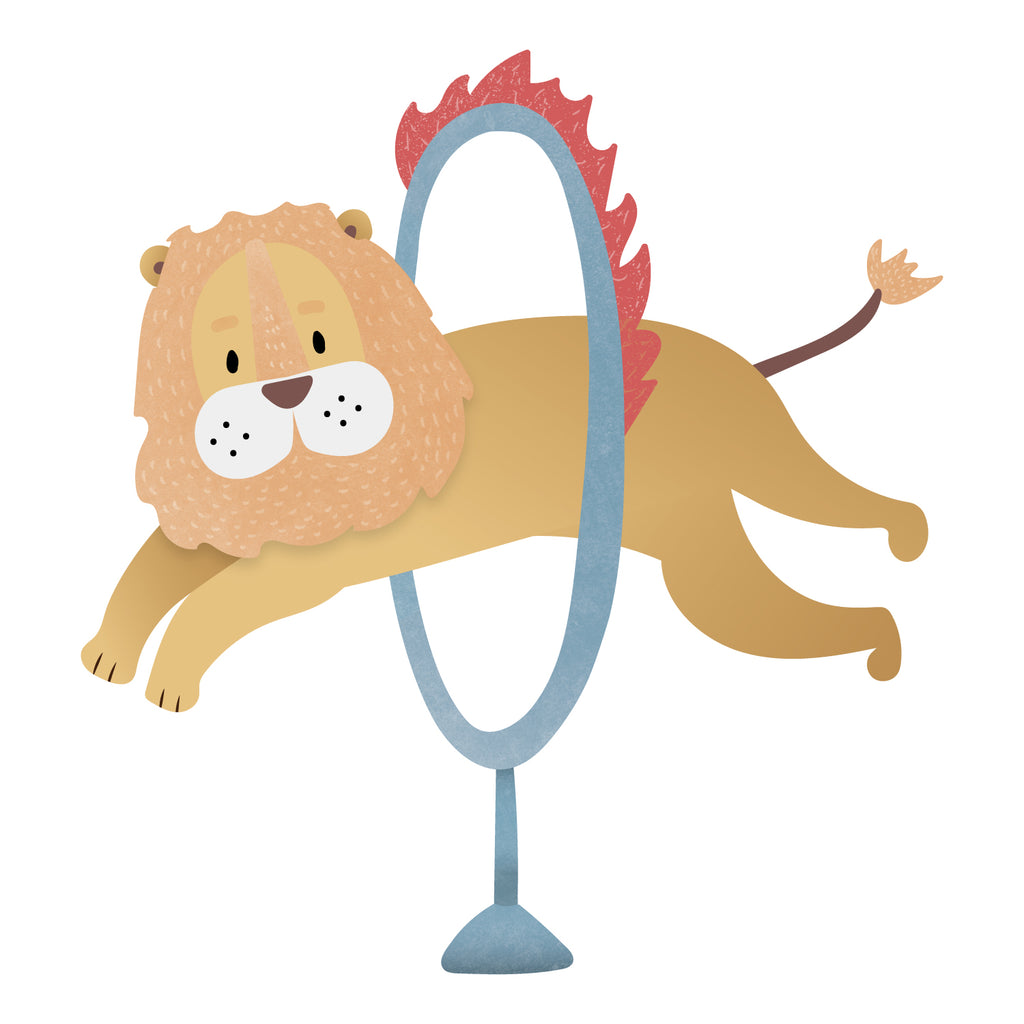 Circus Lion Wall Sticker