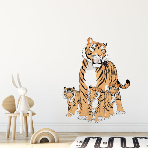 Tiger Jungle Nursery Wall Sticker