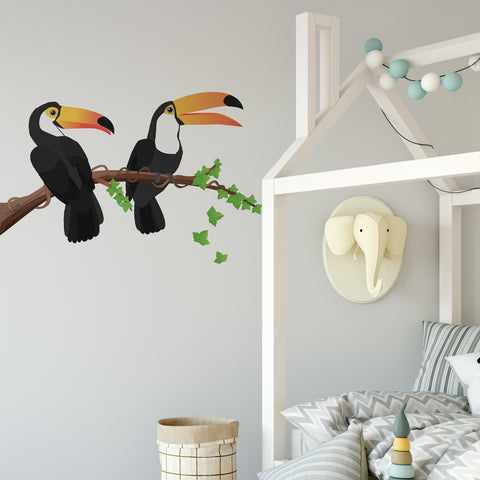 Toucan Jungle Nursery Wall Sticker