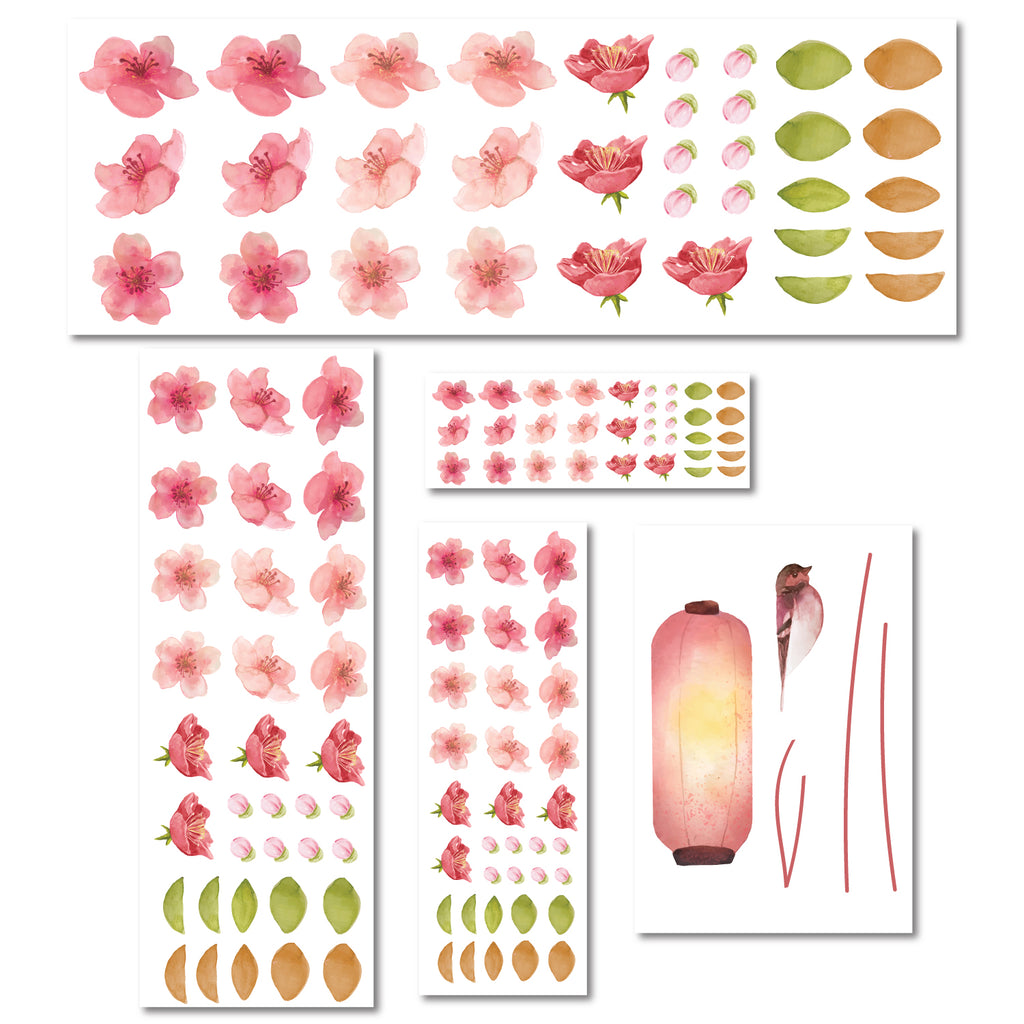 Cherry Blossom Tree Nursery Wall Sticker