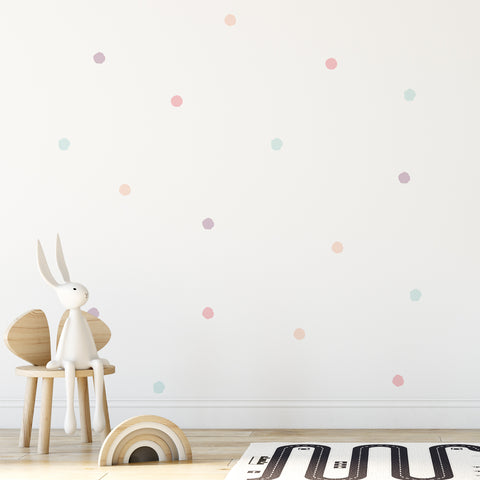 35mm Splatter Dot Pattern Decals - Set of 40