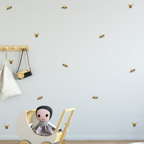 Bees Collection Wall Sticker Pack
