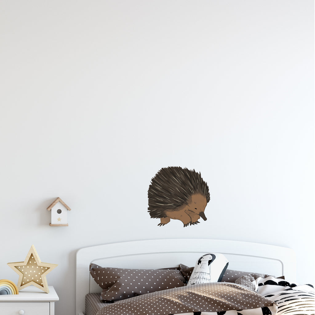 Cute Echidna Australia Wall Sticker