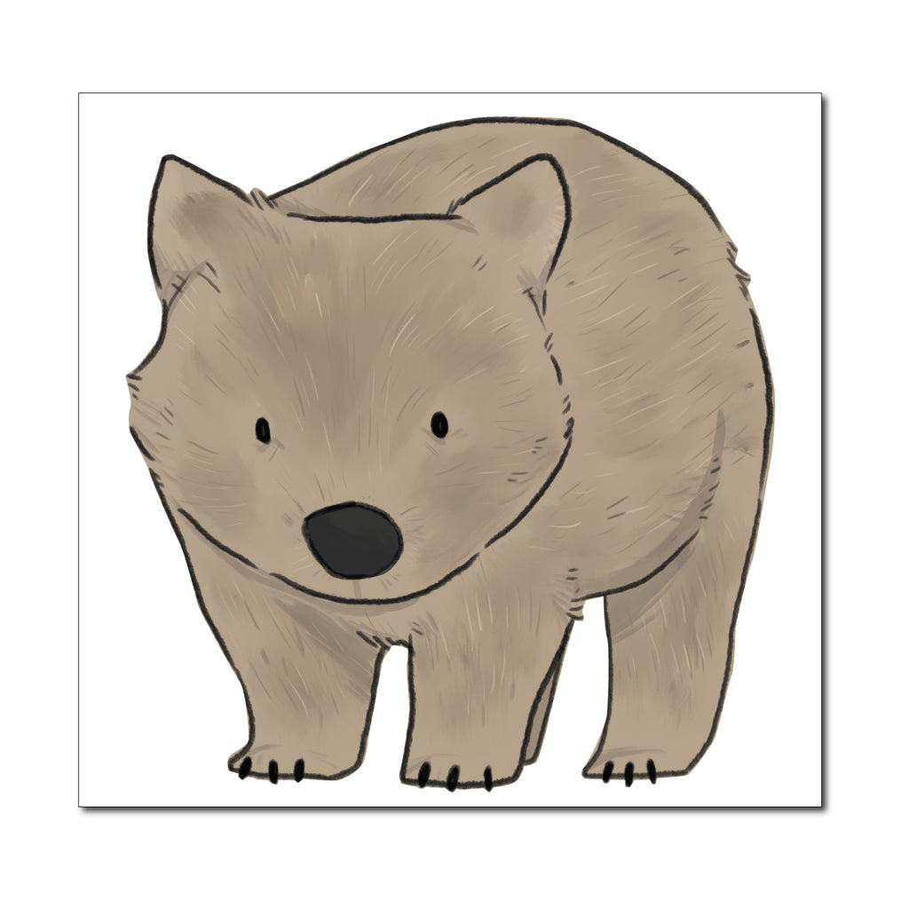 Wombat Australia Wall Sticker