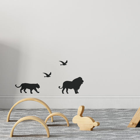 Safari Silhouette Pack Wall Sticker