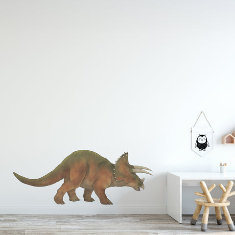 Triceratops Dinosaur Wall Sticker