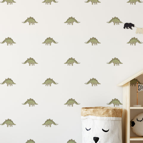 Stegosaurus Dinosaur Pattern Decal