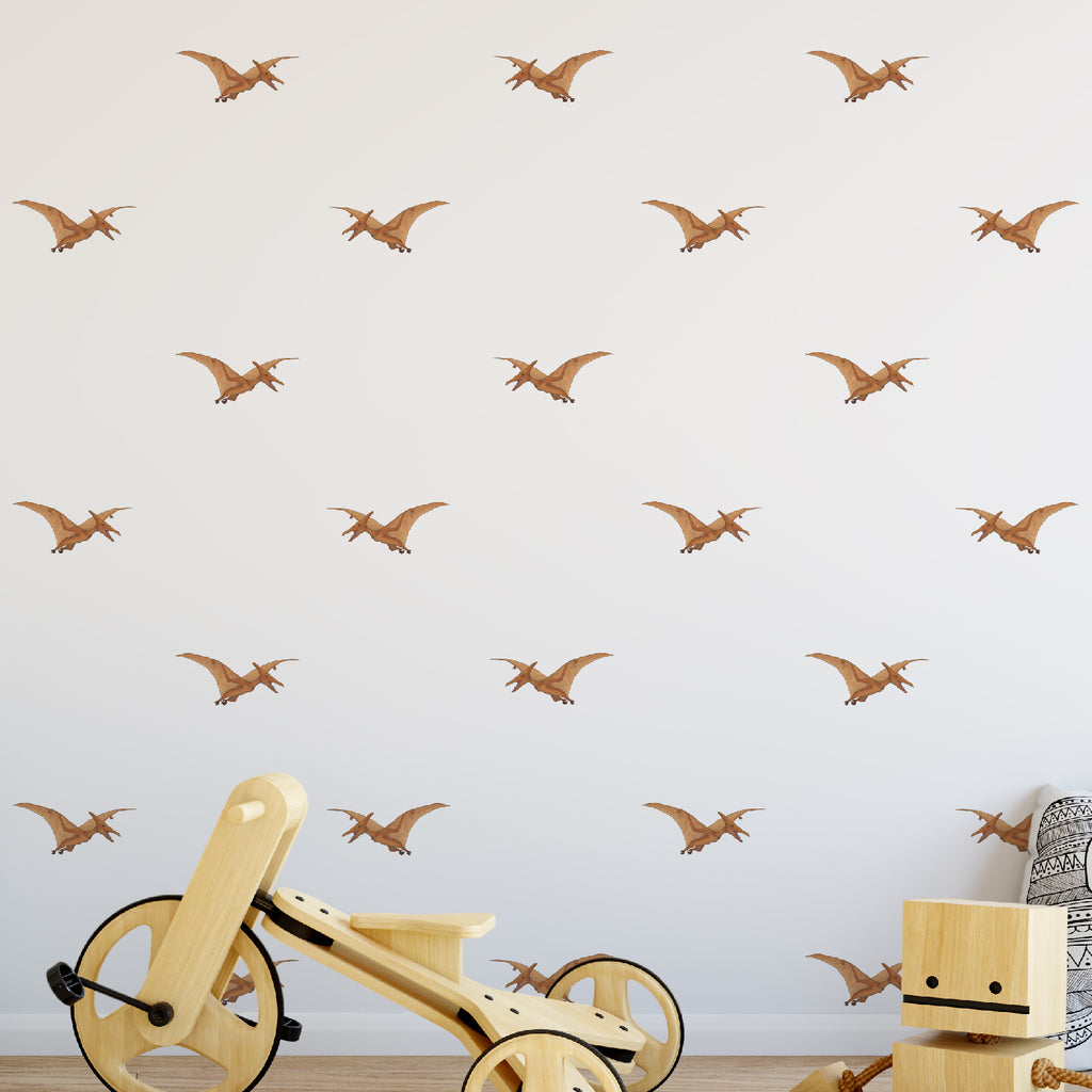 Pterodactyl Dinosaur Pattern Decal