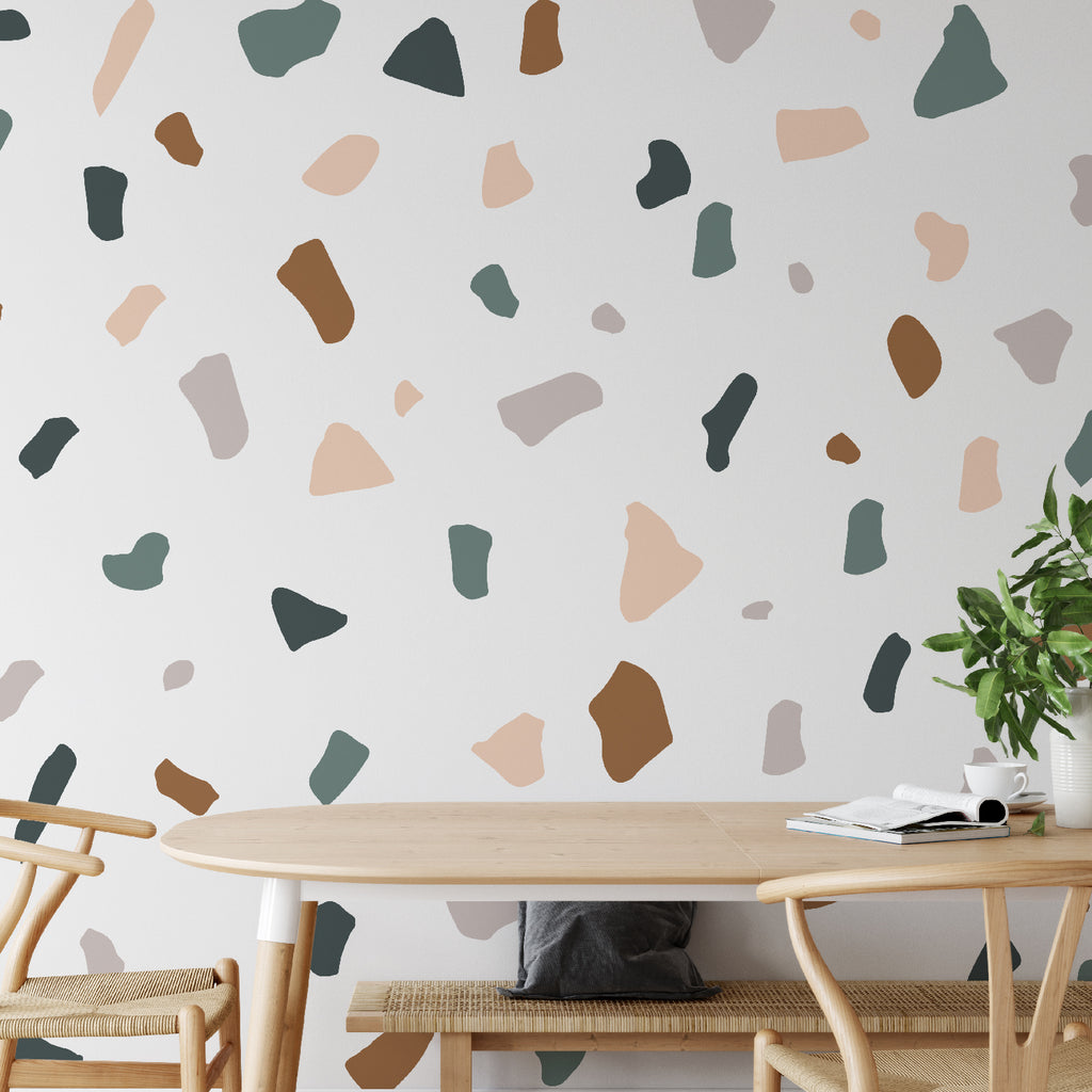 Terrazzo Pattern Decal - Set of 86