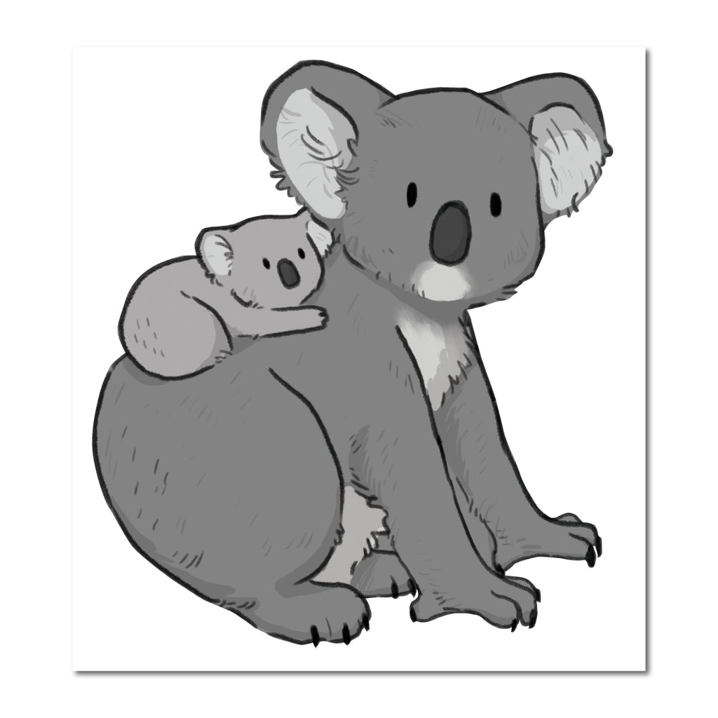 Koala & Joey Australia Wall Sticker