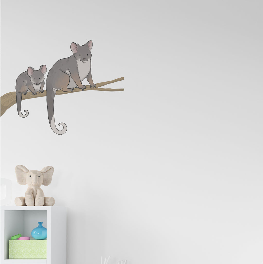 Ringtail Possum Set Wall Sticker