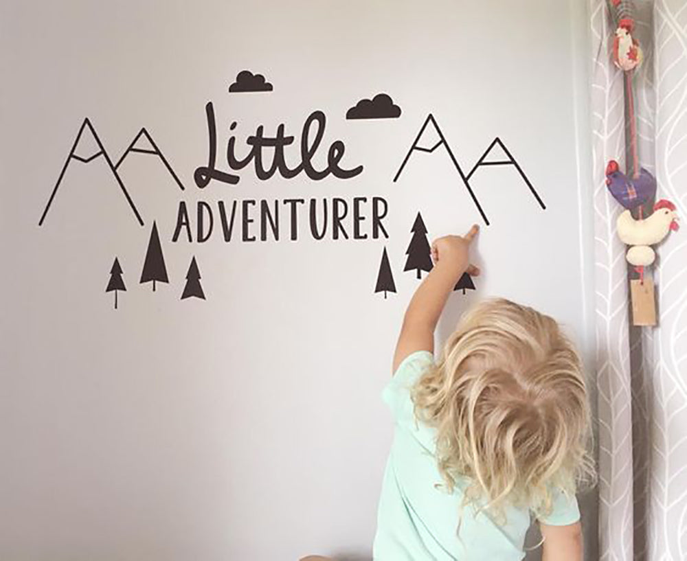 Little Adventurer Wall Sticker