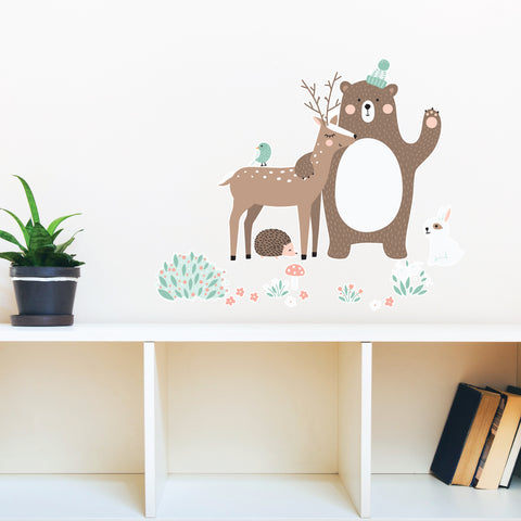 Best Friends In The Forest Wall Sticker