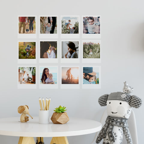 Photo Decals Polaroids
