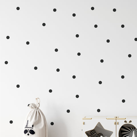 35mm Polka Dot Pattern Decal - Set of 210