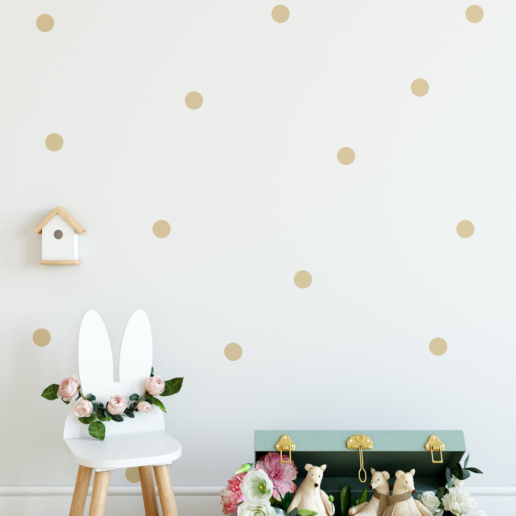 70mm Polka Dot Pattern Decal - Set of 64