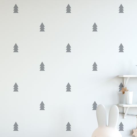 Pine Wall Pattern Decal - Set of 21