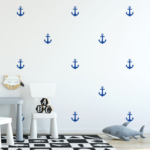 Anchors Wall Pattern Decal - Set of 24