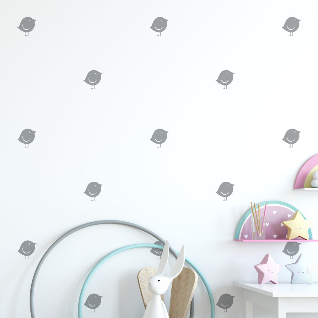 Bird Wall Pattern Decal - Set of 30