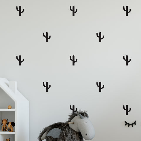 Cactus Wall Pattern Decal - Set of 24