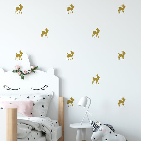 Baby Reindeer Wall Pattern Decal - Set of 24