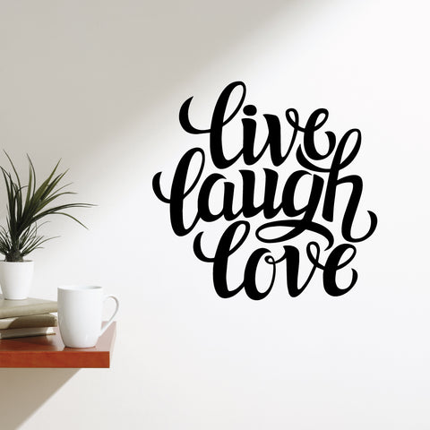 Live Laugh Hope Wall Sticker
