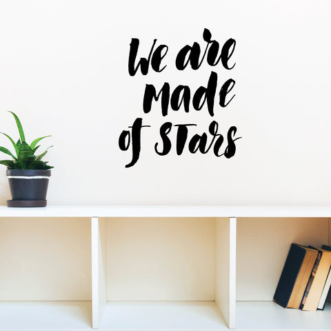We Are Made Of Stars Wall Sticker