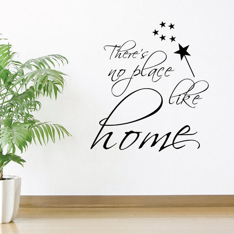 There's No Place Like Home Home Wall Sticker