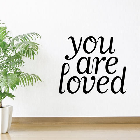 You Are Loved Wall Sticker