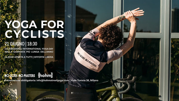 Yoga for Cyclists - Celebrate International yoga day with us!