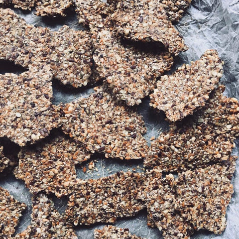 flaxseed & chia crackers ngngm food