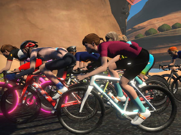 NGNM Zwift Women Crush Wed cycling