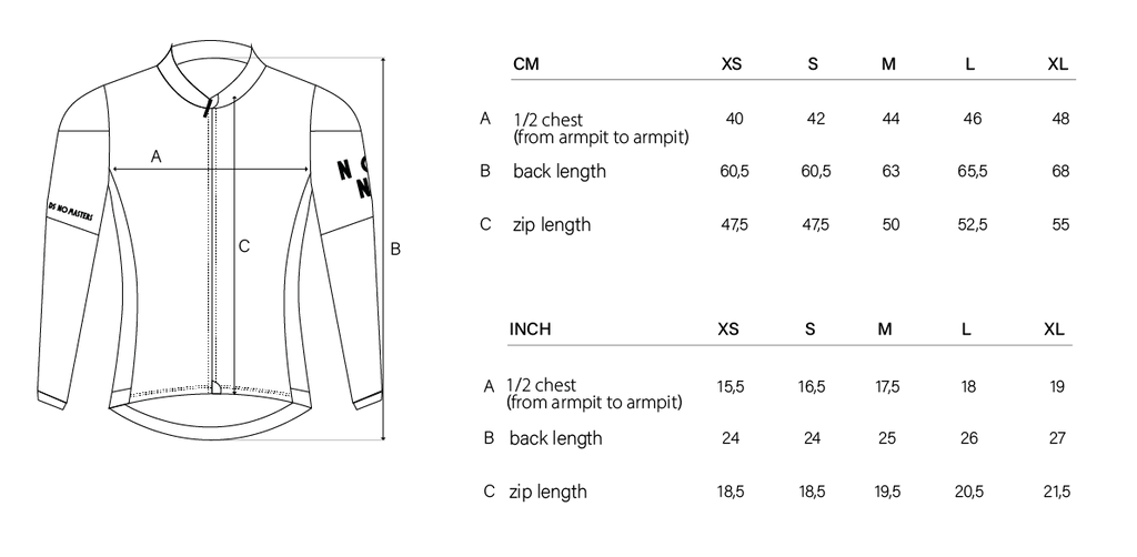 NGNM Performance long sleeve jersey