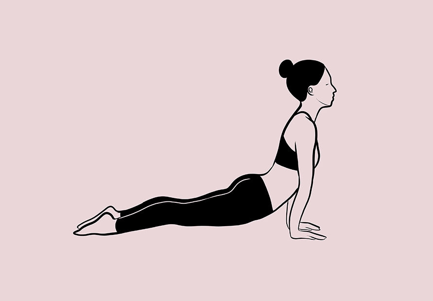 Cobra pose NGNM Sun Salutations