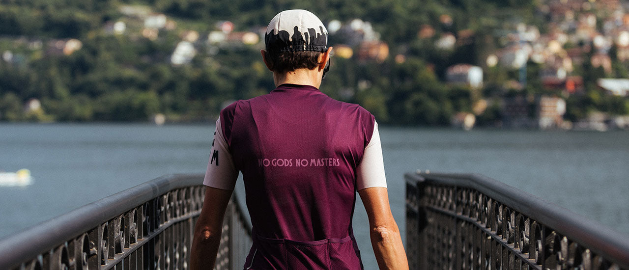 slider|NGNM Performance Jersey Deep Purple Aubergine back logo