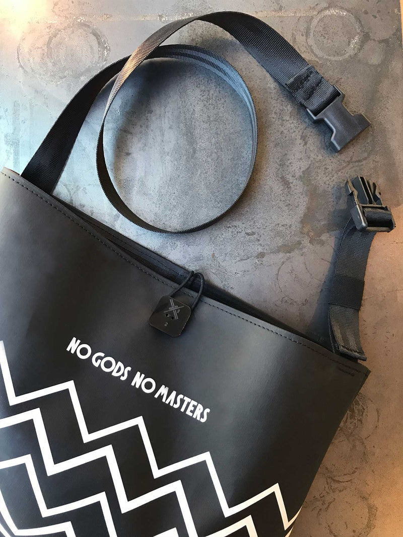 Limited Edition Musette Bag No Gods No Masters in collaboration with Numero9
