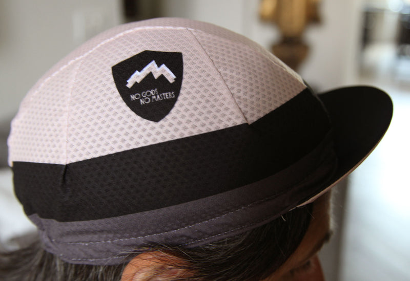 Slider|NGNM Tri-Summer cycling cap side in powder pink light mesh