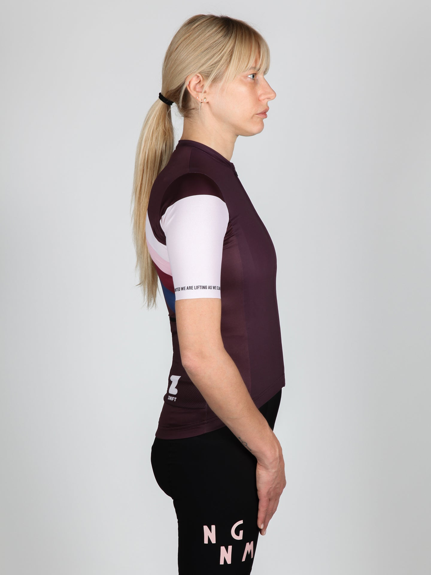 NGNM Jersey cycling ZWIFT aubergine