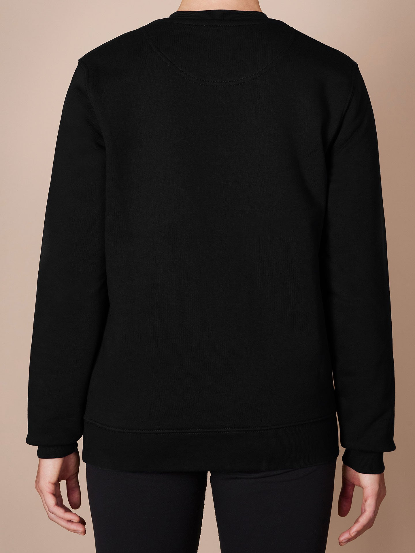 NGNM Mantra Sweathshirt black back
