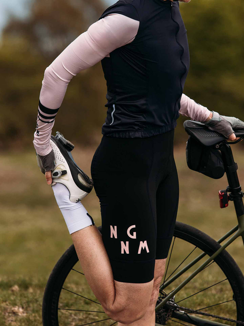 NGNM premium Performance Bib shorts black long leg