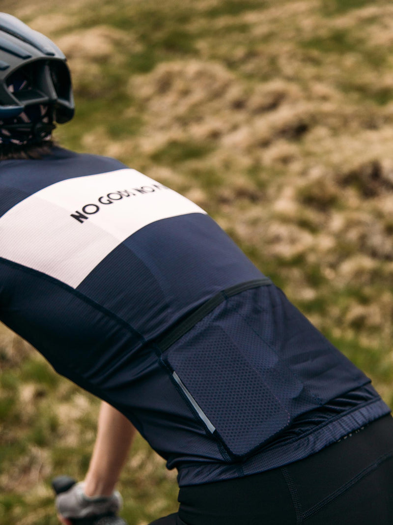 NGNM Performance Kit bundle black bibs blue jersey