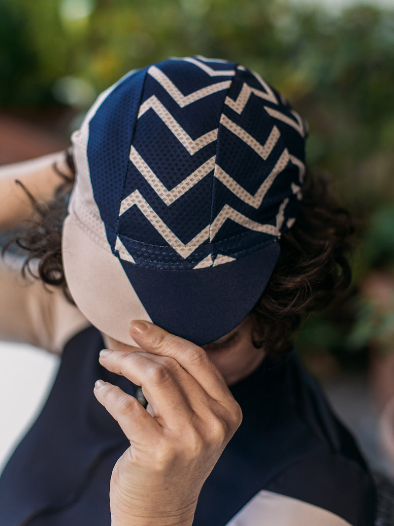 NGNM indoor bundle zig zag summer mesh cap