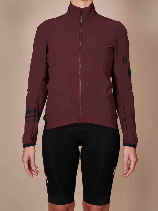WP Shell jacket water proof burgundy NGNM
