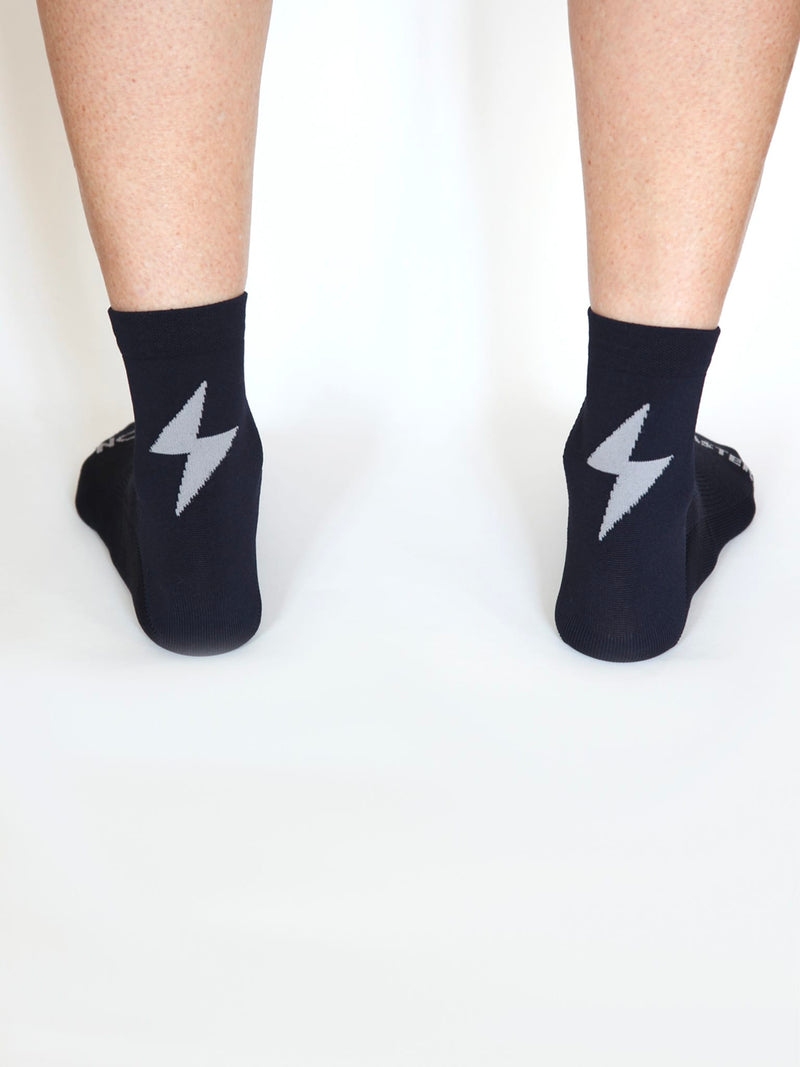 Power-Up Summer Socks - Navy Blue