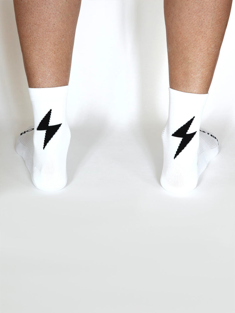 Power-Up Summer Socks - White