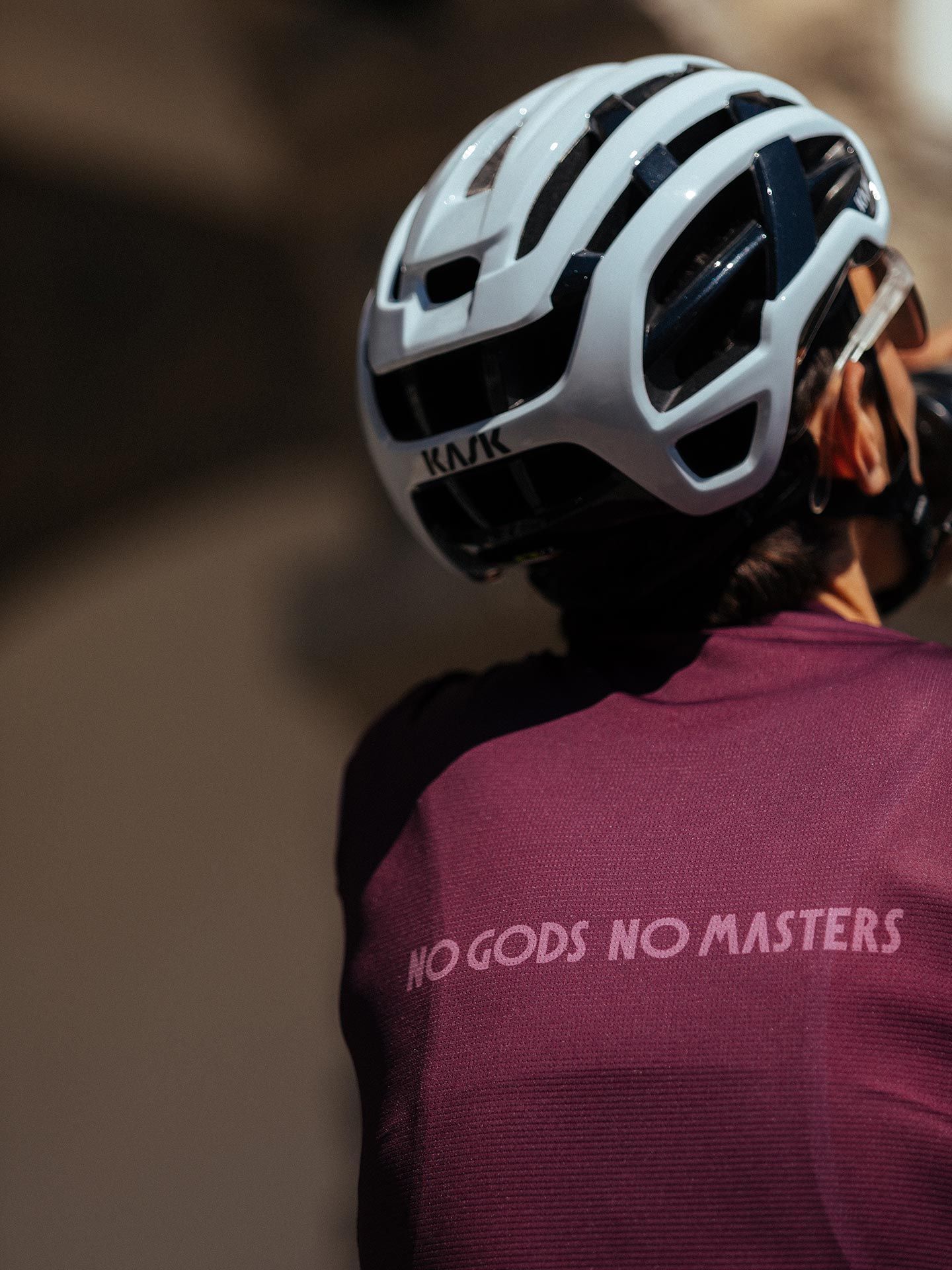 NGNM Performance Jersey Purple Aubergine back logo