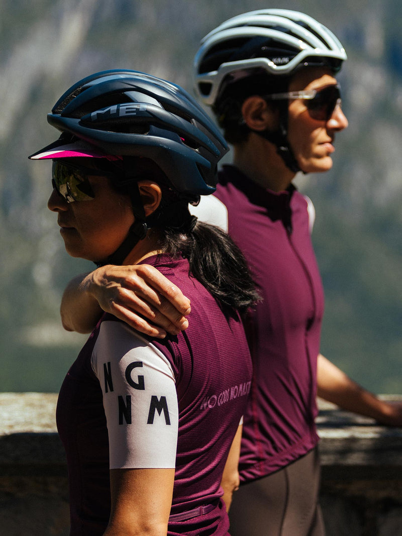 NGNM Performance Jersey Purple Aubergine front and back