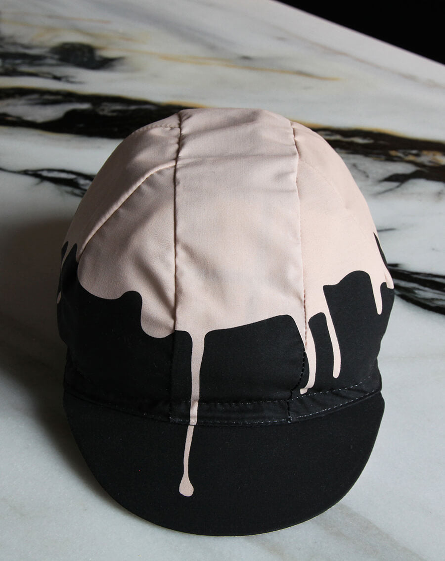 NGNM Pink Melt Down cycling cap poplin powder pink