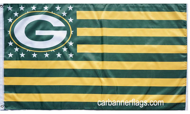 27600a67 Green Bay Packers Flag-3x5 NFL Banner-100% polyester